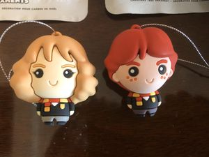 Hermione and Ron Harry Potter Hallmark Ornaments for Sale in Centreville, VA