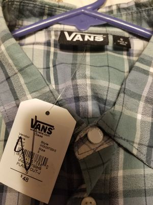 Small Van's button up short sleeved for Sale in Millville, NJ