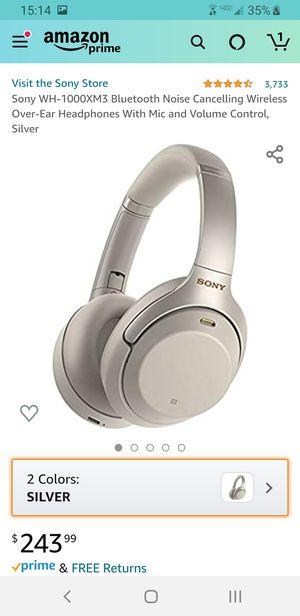 Sony bluetooth headphones for Sale in Minneapolis, MN