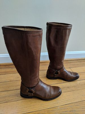 Frye women's Phillip Leather Harness boots for Sale in Washington, DC