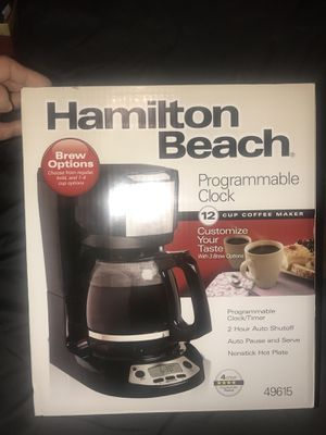 Brand new, still in box! Coffee maker! for Sale in Washington, DC