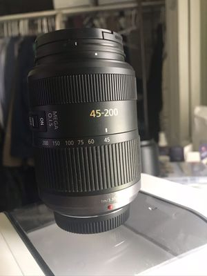 Panasonic LUMIX 45-200mm Lens for Sale in West Valley City, UT