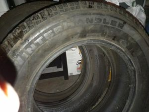 I have two 215 65 R16s winterhandler studded tires for Sale in Lacey, WA
