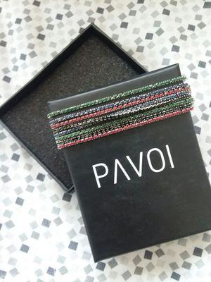 Sterling sliver Pavoi rhinestone bracelets for Sale in Wenatchee, WA