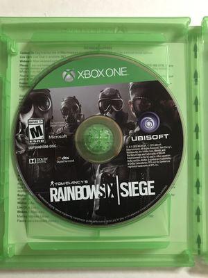 Tom Clancy's Rainbow Six Siege Xbox One S X for Sale in San Diego, CA