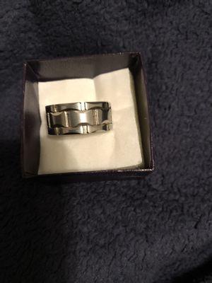 Men's platinum ring for Sale in Wichita, KS