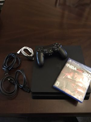 PS4 Slim w/ 1 controller n NBA2K20 $350 for Sale in Philadelphia, PA