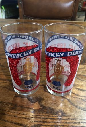 Vintage Derby Glasses for Sale in Mill Creek, WA