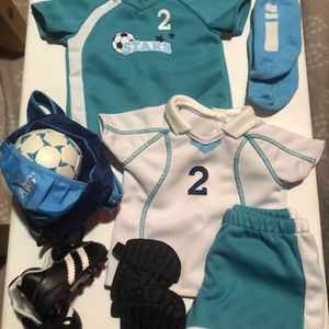 American Girl Doll Clothes (Soccer Outfit) for Sale in Simi Valley, CA