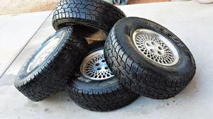 Tire's w/rims 31X10.5R15 (5 on 4.5) for Sale in ELEVEN MILE, AZ