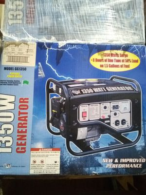 1350W GENERATOR for Sale in Columbus, OH