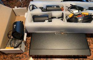 Tigersecu DVR and 3 security cameras for Sale in Miami, FL