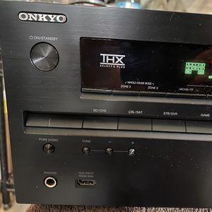 Onkyo TX-NR717 Receiver - 125W 7.2 Channel for Sale in Mountainside, NJ