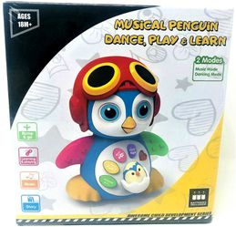Think Gizmos Musical Interactive Penguin Dance Moving Learning Educational Toy for Sale in Oregon City,  OR