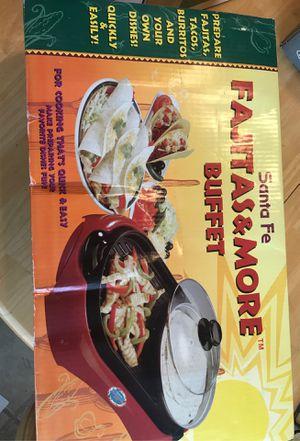 Fajita buffet brand new in box for Sale in Puyallup, WA