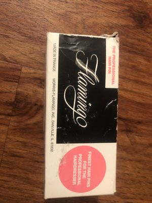 Vintage flamingo professional hair pins ball tipped 1lb for Sale in La Mesa, CA