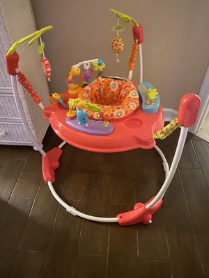Fisher-Price Pink Petals Jumperoo with Lights & Sounds: for Sale in Largo, FL