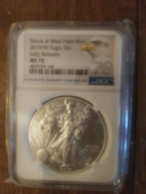 MS70 2019 $1 Silver Eagle (W) Early Release for Sale in Salem, VA