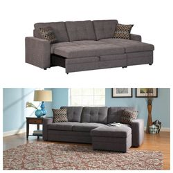 2 PCS SLEEPER SECTIONAL ... with delivery included for Sale in Marietta,  GA