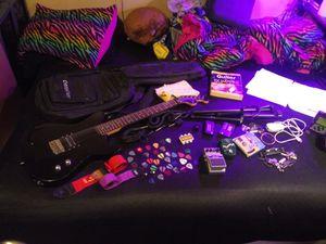 Electric Guitar Bundle for Sale in Bay City, MI