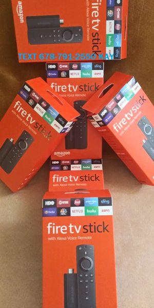 Lastest Amazon Fire TV stick (Loaded) for Sale in Morrow, GA