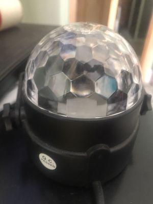DISCO BALL LIGHT ! for Sale in San Bernardino, CA