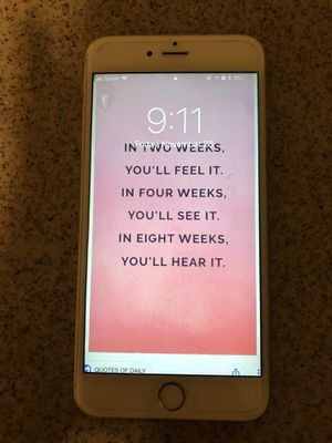 iPhone 6 plues really good take care of for Sale in Sanger, CA