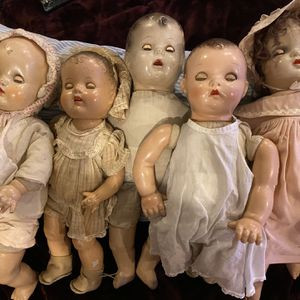 Old Composition Dolls for Sale in Carson, CA