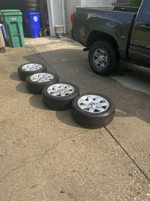 For sale I have some OLD SCHOOL BWM rims. Sz 205, 55 r16 for Sale in Germantown, MD