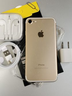 iphone 7 32GB Clean Unlocked Metro T-Mobile AT&T Cricket Sprint Boost Mobile Verizon Telcel Gold for Sale in Pico Rivera,  CA