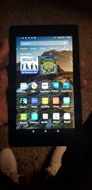 Kindle Fire 7 (7th Gen) - Tablet for Sale in Newport News, VA