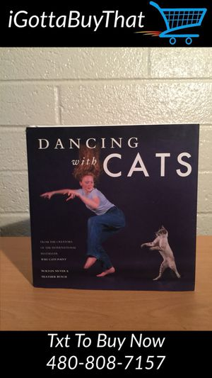 Book - Dancing with Cats for Sale in Tempe, AZ