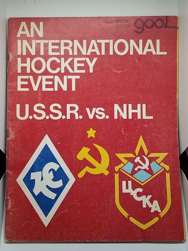 1976 USSR VS NHL New York Islanders edition