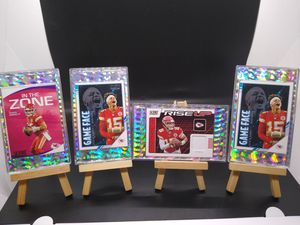 2019-20 Score Patrick Mahomes ll 4 card lot of 🔥see description for details for Sale in Woodstock, IL