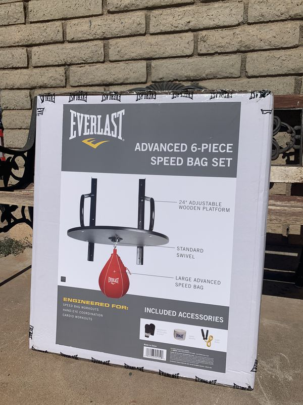 Everlast 6 piece Speed bag set NEW