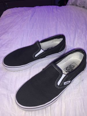 Vans, Slip On in black for Sale in Moorpark, CA