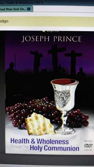New And Unopen, Joseph Prince, Health & Wholeness, DVD for Sale in Fayetteville, NC