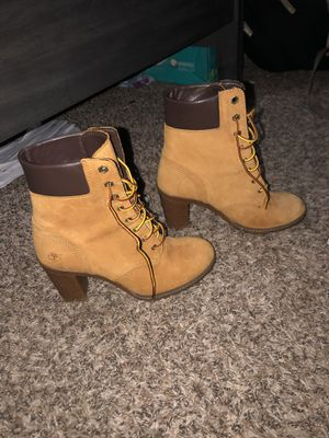 Size 6 women Timberlands for Sale in Raleigh, NC