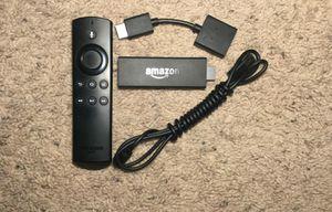 Black Amazon Fire TV Stick with Alexa Voice Remot for Sale in Denton, TX