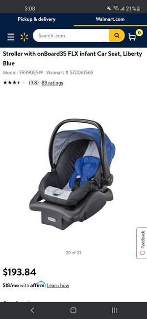 Safety 1st car seat w base for Sale in Vallejo, CA