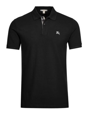 Burberry Brit Black Short Sleeve Polo With Logo for Sale in Hesperia, CA