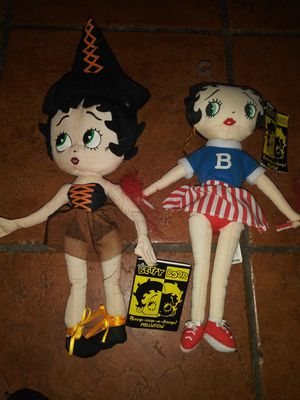 Collectible Betty Boop Halloween costume plush toys for Sale in Lawndale, CA