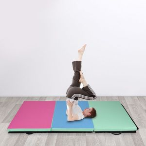 4' x 6' x 2' Portable PU Exercise Aerobics Gymnastic Mat for Sale in Los Angeles, CA