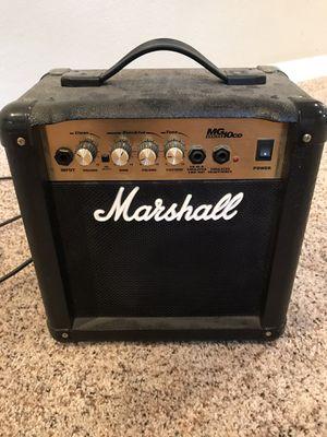 Marshall MG10CD 40 watt amp for Sale in Westminster, CO