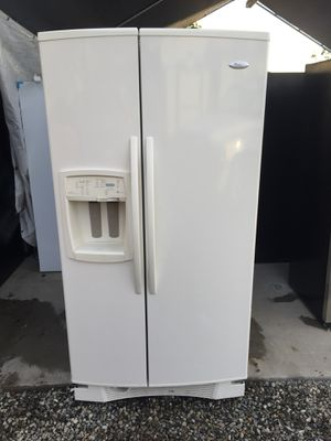 Beige Kenmore Side By Side Refrigerator For Sale for Sale in Rancho Cucamonga, CA