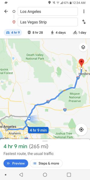 L.A to LAS VEGAS 10/18/2019 for Sale in Los Angeles, CA