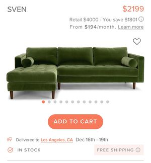 Designer sectional for Sale in Norwalk, CA
