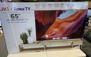 "65"" JVC smart roku 4K led uhd hdr tv for Sale in Norwalk, CA"