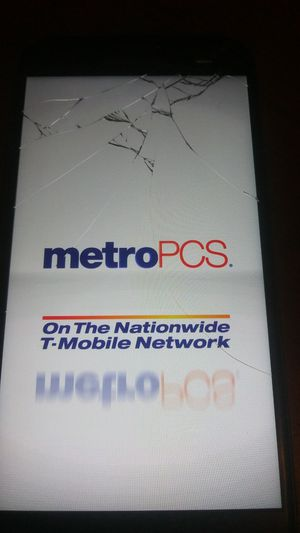 THIS IS A Samsung Galaxy J-3 Prime phone it has been cracked you can get it fixed comes with a couple phone cases with the phone and it is metro pcs for Sale in Pittsburgh, PA