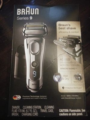 Braun series 9 read profile for Sale in Norwalk, CT